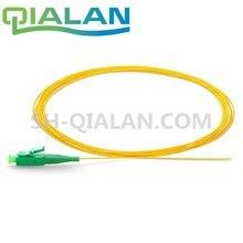 LC APC Codino 1m 1.5m 3m 10m Simplex 0.9 millimetri Rivestimento di PVC Singolo Modalità LC/ APC Ftth Cavo In Fibra Ottica Della Treccia