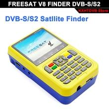 Freesat v8 Finder satellite meter DVB S2 Satellite Finder High Definition MPEG 2 MPEG 4 3