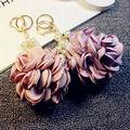 Handmade Camellia  Keychain Car Key Chain Key Ring Women Bag Charm Pendant