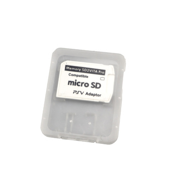 V5.0 SD2VITA PSVita Memory Micro Card for PS Vita SD Game 1000/2000 Sd Slot Adapter 3.60 System new arrival - discount item  20% OFF Games & Accessories
