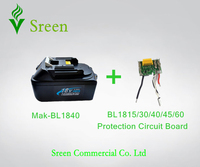 New Spare BL1830 Lithium Ion PCB Circuit Board With Replacement Makita 18V 4 0Ah Power Tool