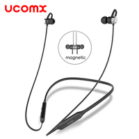 UCOMX G02S Wireless Headphone Sport Bluetooth Earphone Neckband Stereo Headset Magnetic Auriculares With Mic For Running