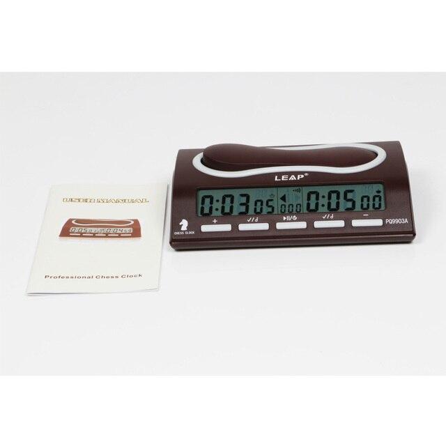 Horloge d'échecs électronique professionnelle, horloge numérique, horloge à compte à rebours, horloge de sport, Bonus de compétition, PQ9903 3