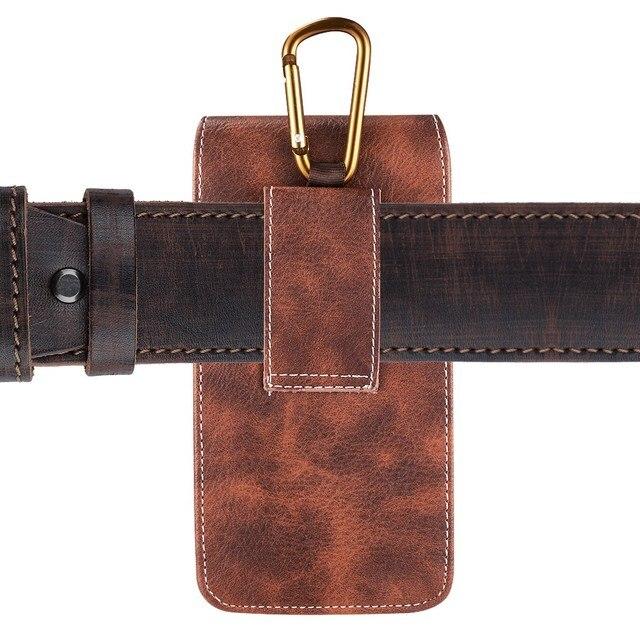 Belt Clip Phone Pouch Case Universal Mobile Phone Holster Waist for xiaomi redmi note 4 4x 5 5a 6 redmi 5 plus 6a mi8 mi9 cover 6