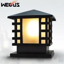 Винтажный водонепроницаемый акриловый наружный светильник на столбе, забор, вилла, стояночный столбик, лампа для парковочных ворот, общий садовый светильник, чапитер, бюстгальтер