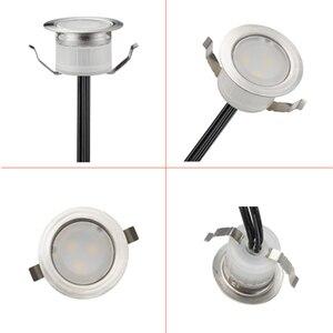 Image 4 - 6 قطعة/الوحدة الذكية WIFI الهاتف APP ملون للتحكم/RGBW 31 مللي متر 12 فولت ip67 المطبخ درج خطوة LED سطح السفينة السكك الحديدية أضواء ل اليكسا صدى جوجل المنزل