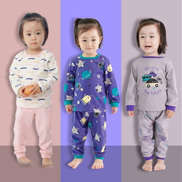 Baby Girl Clothes Set Boy Pajamas Sets Newborn Baby Boy Clothing Set Baby Sleepwear Girls Kids Cotton Pajamas Children's Pajamas