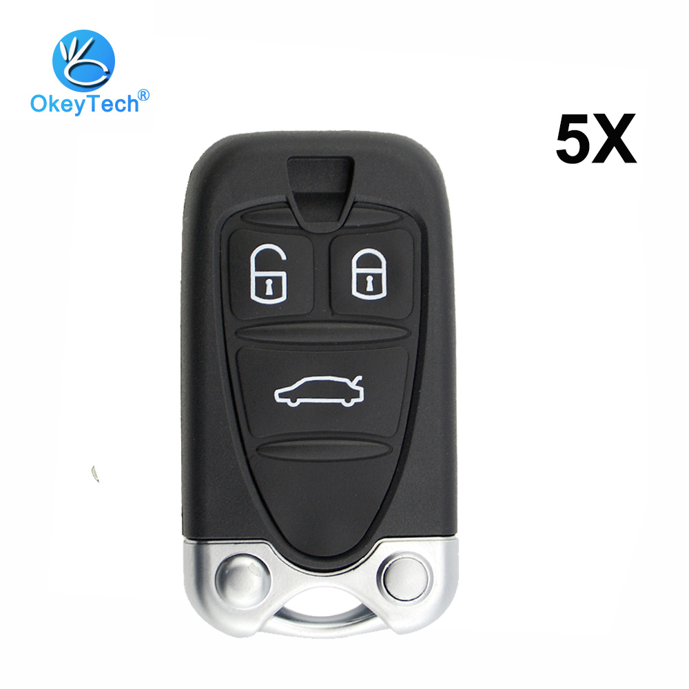 Ax For Alfa Romeo 159 Brera 156 Q4 Gt 946 Spider Keyless Fob Shell Skin Keyring Key Chain Holder 3 Button Silicone Key Cover Key Rings Automobiles & Motorcycles