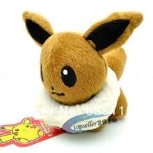 1pcs retail new fashion hot sales brown Pokemon plush dolls 5 12 baby kids gift high