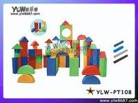 Пластиковый блок игры для крытая площадка, детская площадка игрушки