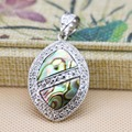 25*38mm women Hot sale Natural colourful Abalone seashells pendants jewelry delicate design gifts Series Wholesale and retail