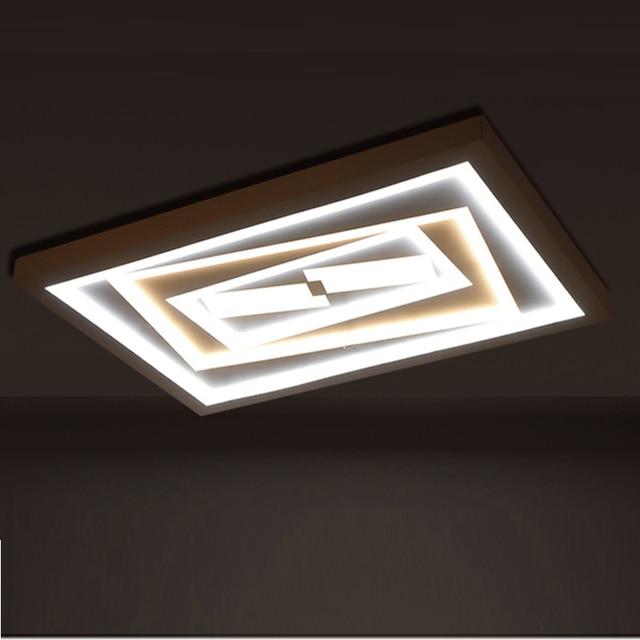 LED Deckenleuchten schlafzimmer rechteckigen zauberwürfel ...