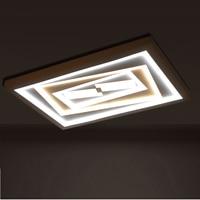 Ledシーリングライト寝室長方形ルービックキューブ人格ロマンチックで暖かい現代の天井ライトLU817335