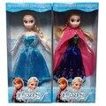 29 cm New Anna Elsa Bonecas Anna Princesa Elsa brinquedos Bonecas presentes para meninas Princesa Elsa e Anna rainha para crianças