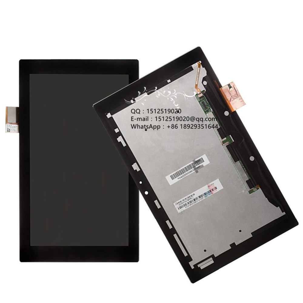 Free shipping 100% tested Touch Screen LCD Display Assembly for Sony Xperia Tablet Z SGP311 SGP312 SGP321 SGP341 100% new tested for motorola moto x style x3 xt1570 lcd screen display with touch digitizer tools assembly 1 piece free shipping