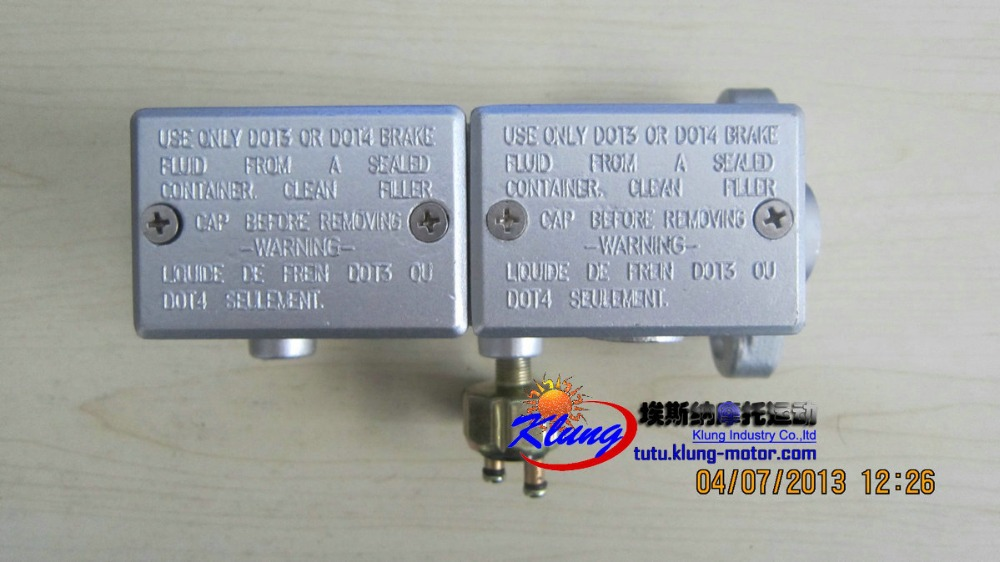 Klung250,650,1100 Brake Master Cylinder  For GOKA Buggies ,BMS Motor Go Karts, Roketa Atvs, Offrod Vehicles.