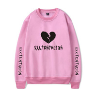 print Revenge hoodies xxxtentacion hoodie sweatshirts Hip Hop clothes Fahsion Letter pullover casual hoodies clothes