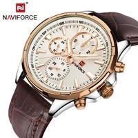 Top Luxury Brand NAVIFORCE Men's Watch Fashion Casual Quartz Wristwatches 24 hour Display Waterproof Clock Man Relogio Masculino