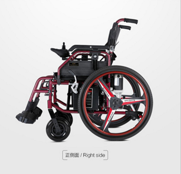 Мощный потенциал складной электрический коляске с литиевая батарея