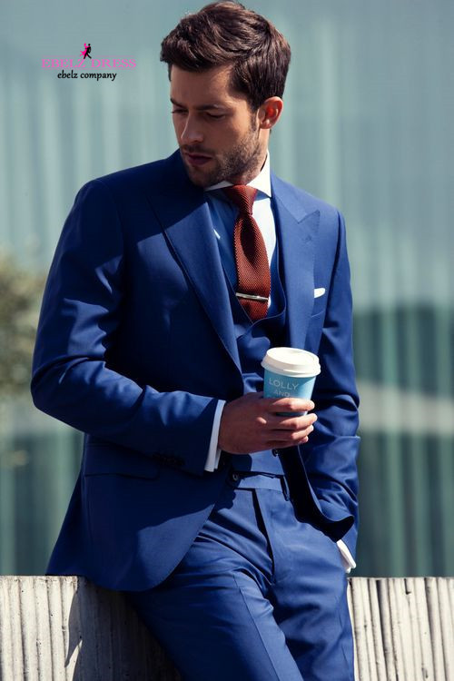 suit coat Picture - More Detailed Picture about 2015 Royal Blue ...
