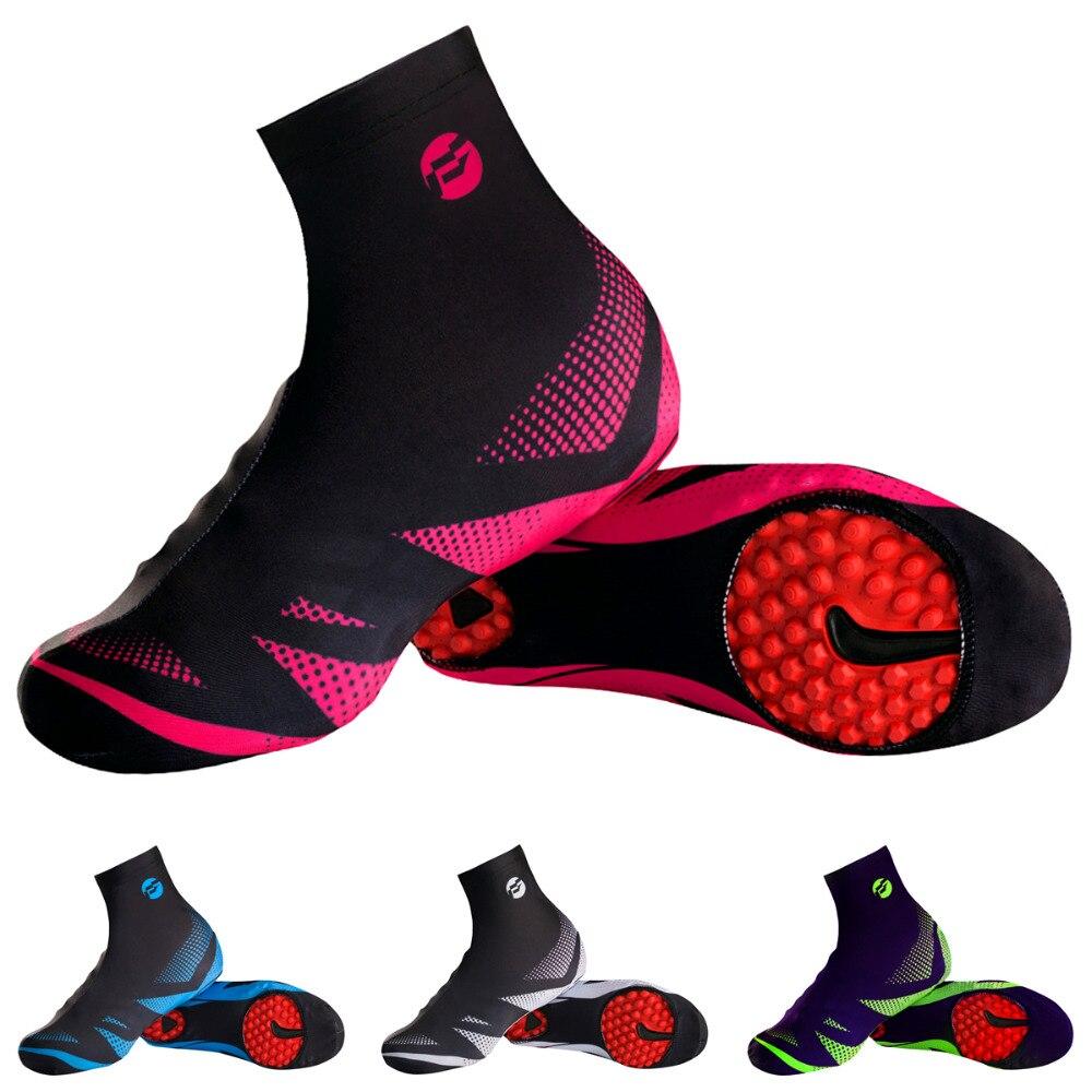цена на Summer Spring autumn Man/Women Cycling Shoe Cover Quick dry 100% Lycra Men Sports MTB Bike Cycling Overshoes Bicycle Shoe Covers