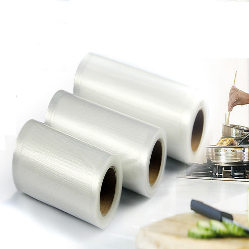 3roll/lots 30cm*500cm*160micron Clear <font><b>Shopping</b></font> Vacuum Plastic Packaging <font><b>Bags</b></font>,Vegetable packaging <font><b>Bag</b></font>