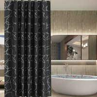 Cortina de ducha de color sólido partición de inodoro Cortina de ducha de moho resistente al agua 180CM Casa/Viaggi/Hotel Tenda DE LA Doccia D40