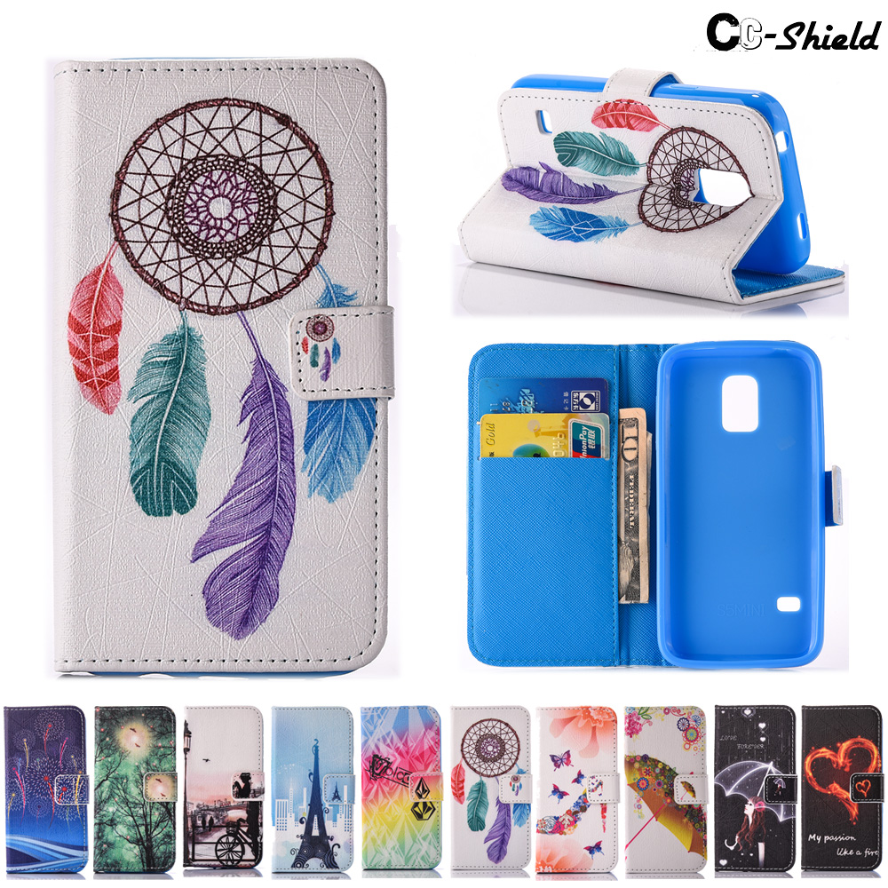 Case for Samsung Galaxy S 5 S5 mini S5mini G800F G800H G800A G800Y SM-G800F SM-G800H SM-G800A SM-G800Y Case Phone Leather Cover