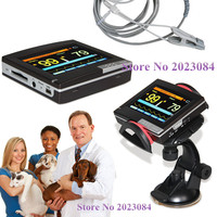 Free Shipping PM60A VET Veterinary ICU Patient Monitor Vital Signs SPO2 Pulse Rate,Touch,software