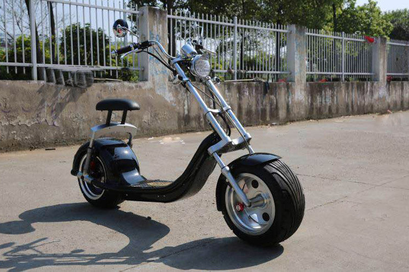 velo electrique adulte harley citycoco scooter 1200 w haut de gamme avec miroir dans auto. Black Bedroom Furniture Sets. Home Design Ideas