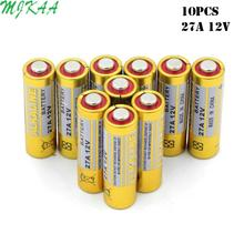 10pcs 12v G27A A27 27A GP27A L828 V27GA EL812 EL-812 CA22 ALK27A A27BP  for Doorbell Remote Control Dry Alkaline Battery