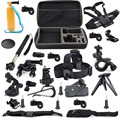 20 in 1 Outdoor Sports Accessories Kit for Sony Action Cam HDR-AS20 AS15 AS30V AS100V AS200V FDR-X100V/W 4K AZ1 Mini