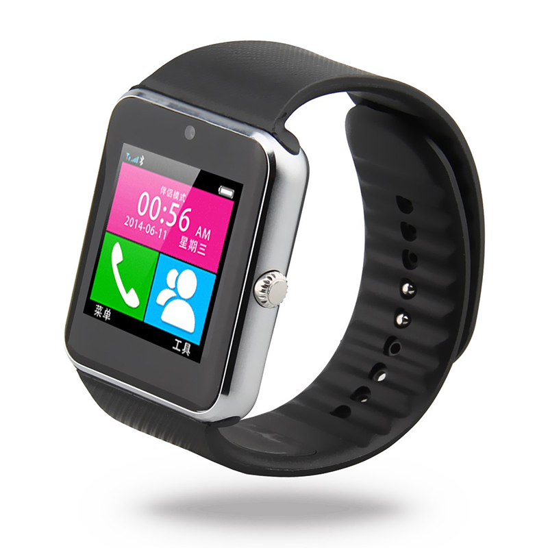 bluetooth smart wrist watch gsm sim card phone for