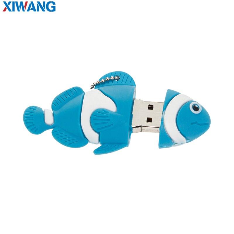 Image 3 - USB Flash Drive 128GB 64GB 32GB Cartoon  nemo fish pendrives pen drives 16GB 8GB Finding Nemo USB 2.0 flash memory stick u disk-in USB Flash Drives from Computer & Office