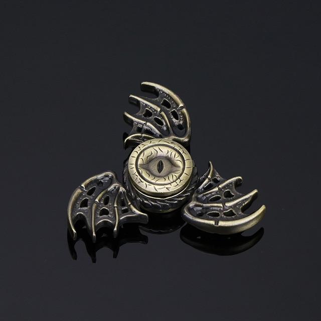Игра престолов Непоседа Spinner Дракон Глаза Металла Ручной Счетчик палец Счетчик Анти-Стресс Tri Spiner Игрушки для Аутизма и СДВГ