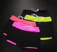 משלוח חינם הפתילה ייבוש מהיר כושר נשים מכנסיים קצרים נשים מכנסי ספורט קצר Sml גודל איכות גבוהה