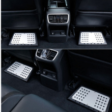 For Land Rover Volvo Tesla Jaguar Bentley Passenger Rear Back Seat Foot Rest Pedal Stool Plate Pedals Footboard FootPlate