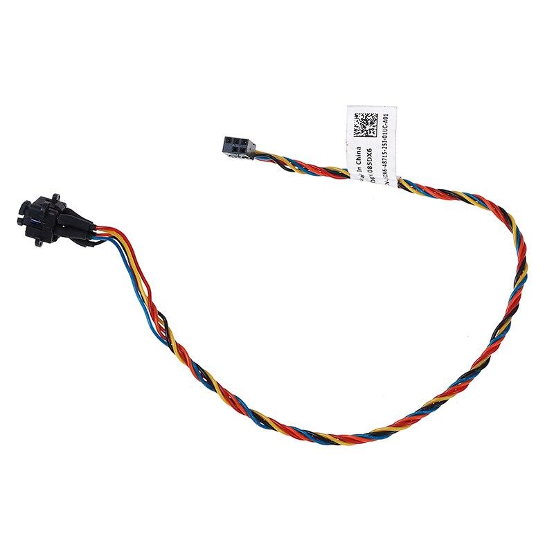 Image 2 - Для Dell Optiplex 390 790 990 3010 7010 9010 085DX6 85DX6 Мощность кнопка включения кабель on AliExpress