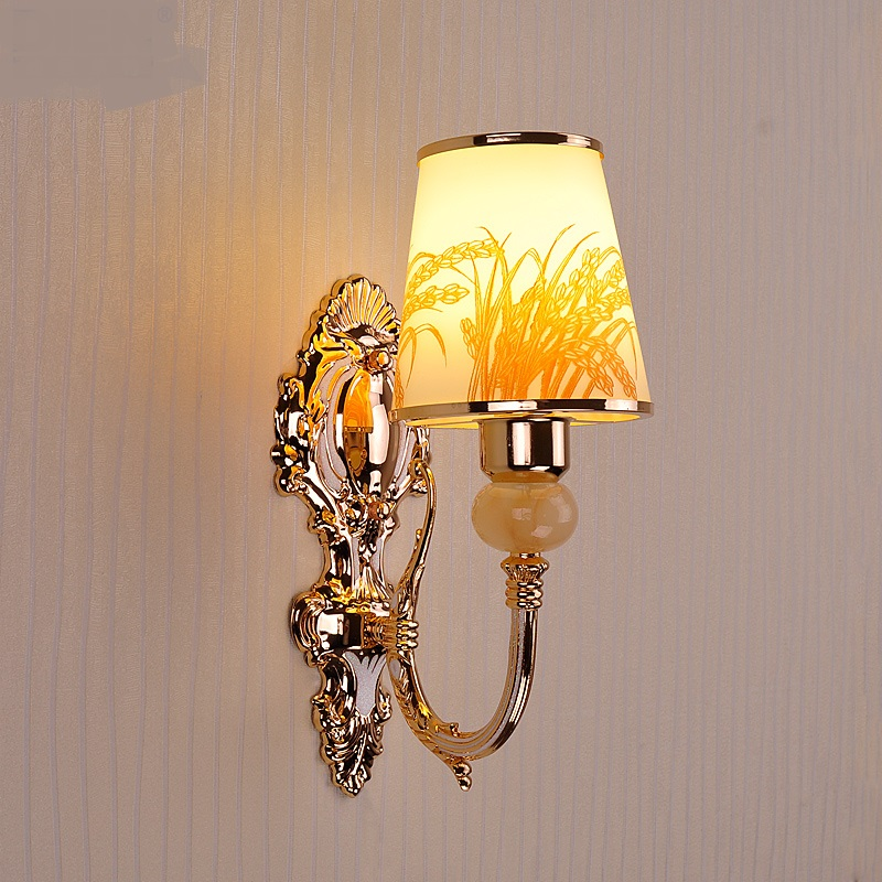 Simple modern led wall lamps double head bedside lamp bedroom living room aisle warm and romantic lamps and lanterns LU823411 modern lamp trophy wall lamp wall lamp bed lighting bedside wall lamp
