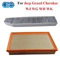 Car Carbon Engine & Cabin Air Filter For Jeep Grand Cherokee 05013595AA, 05013595AB, 82204691, 82208300, 05019002AA Accessories