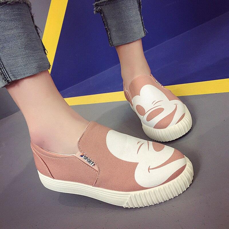 2018 primavera y otoño nuevo patrón estrella Fondo cómico nivel con Le Fuxie ocio solteros zapato ForeignALEX
