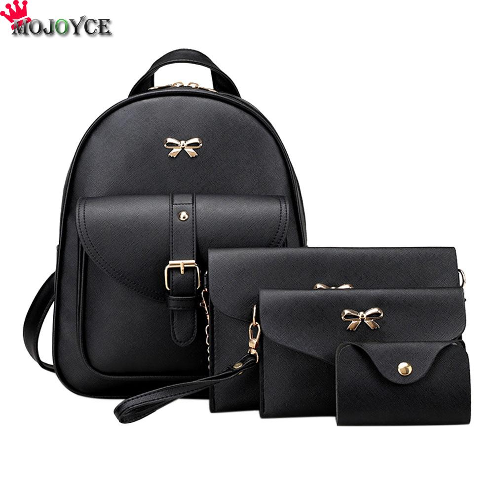 2018 Fashion Korean women mini Backpack small PU Leather Backpacks school bags teenagers girls female travel Backpack Mochilas dida bear brand women pu leather backpacks female school bags for girls teenagers small backpack rucksack mochilas sac a dos