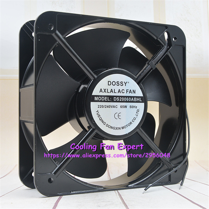 Bomin Technology for DISSY DS20060ABHL 220V 65W 20CM high air Volume Metal Cooling Fan