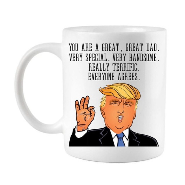 Father's Day Everyone Agrees You Great Dad Funny Ceramic Coffee Mug