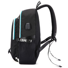 OHCOMICS Anime My Hero Academia Boku no Hero Academia Causal School Travel Backpack USB Charging Teenager Laptop Shoulder Bag