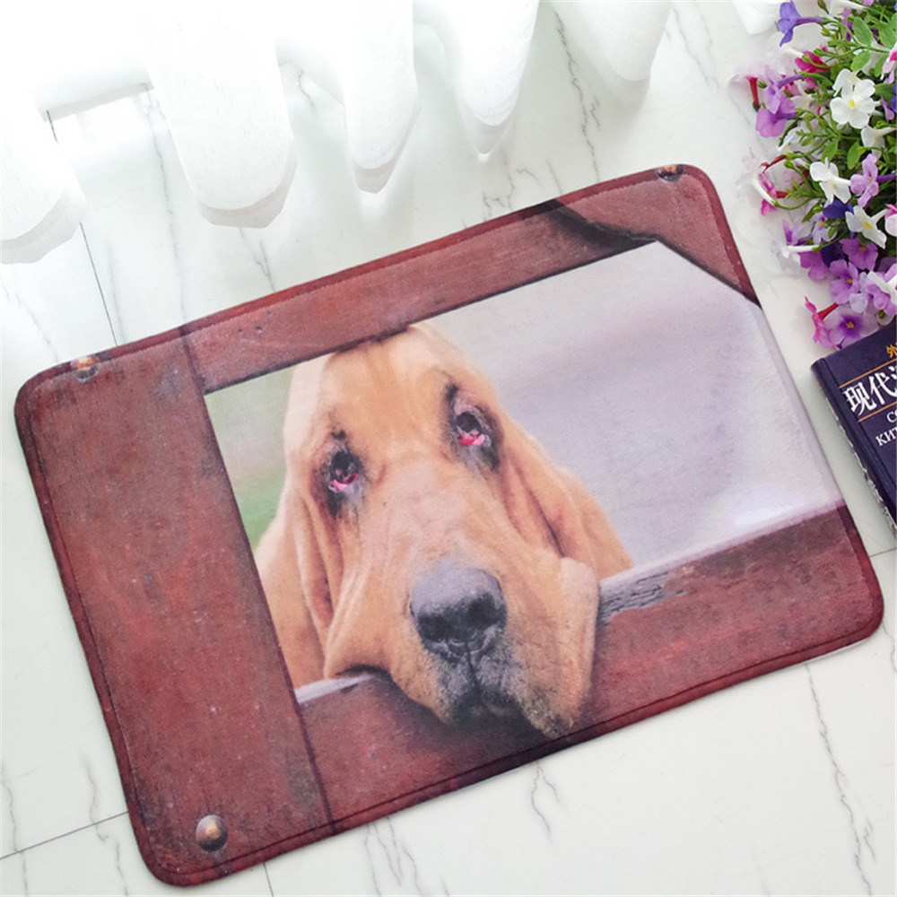 NEW Cute Animal Dog Cat Anti Slip Carpets font b Floor b font Mats Bathroom font