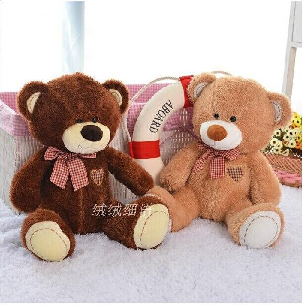 unids cm amor oso de peluche de juguete osos de peluche dos colores alta