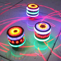 2017 New Funny Multi-Color Spinning Tops Toy Spinner Gyro With Music Laser Flash Light for Kids  YH-17