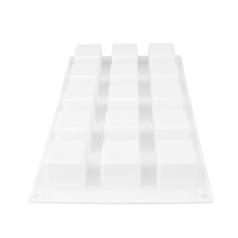 DIY Cake Tool Magic Square Silicone Cake Mold Rubiks Cube Chocolate Mousse Cake Silicone Cake Mould Dessert Baking Tools4
