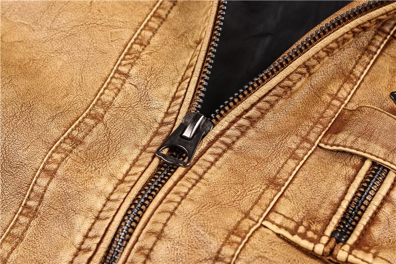 HTB1g3LCjm8YBeNkSnb4q6yevFXad Men's Military Bomber Leather Jackets 2019 New Autumn Winter Thick Warm Tactical Pilot Multi-Pocket Leather Jacket Coat 4XL 5XL